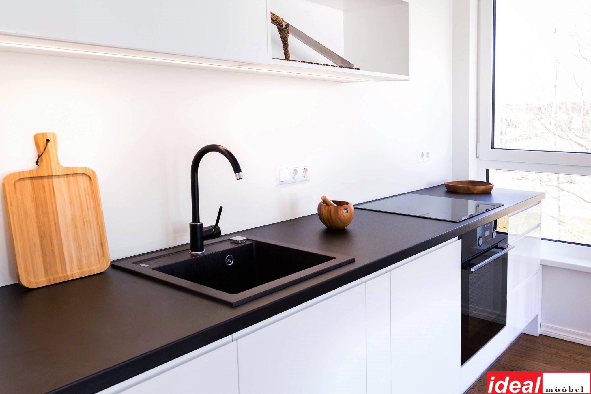 Kõrgläikega köögimööbel